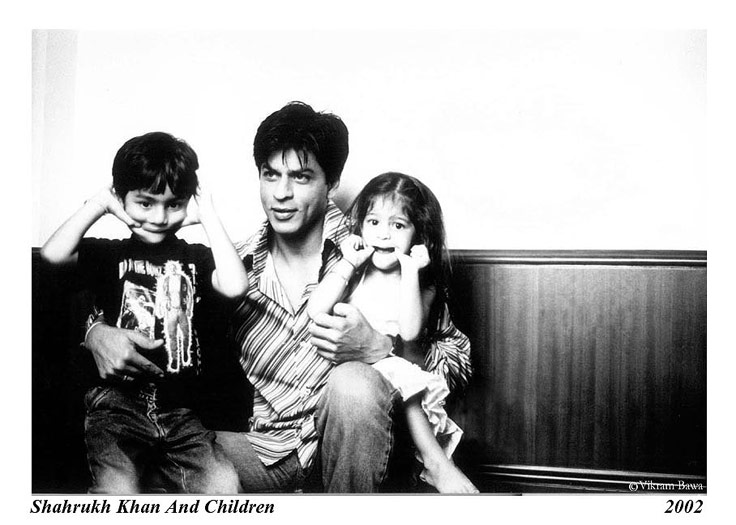 Shahrukh Khan And Children