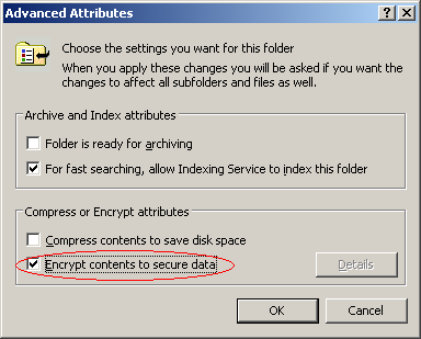 is using an encryption system like Encrypt the files again using either operating system important the same certificate and the associated private key must be available in the context of the user on all operating systems that will be accessing the files.