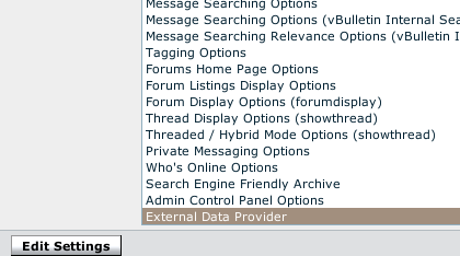 Fig.01: Vbulletin options which allow people to receive a feed