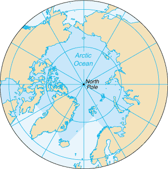 he North Pole, also known as the Geographic North Pole or Terrestrial North Pole